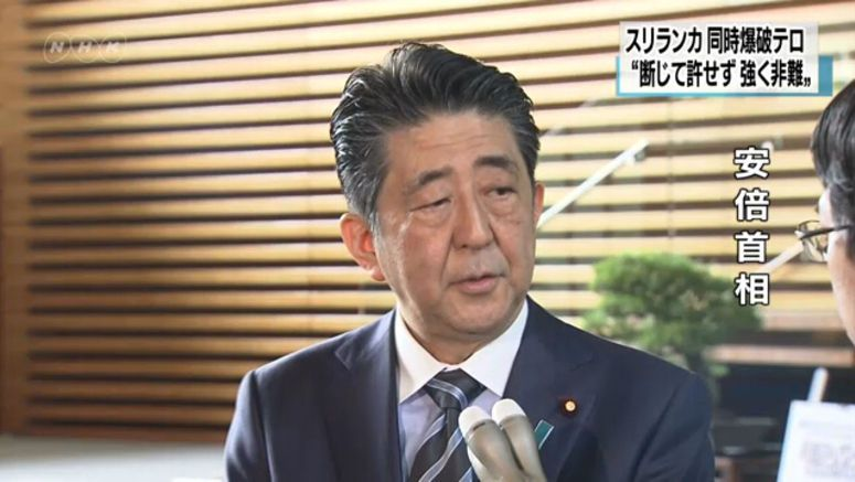 Abe: Japan will fight terrorism