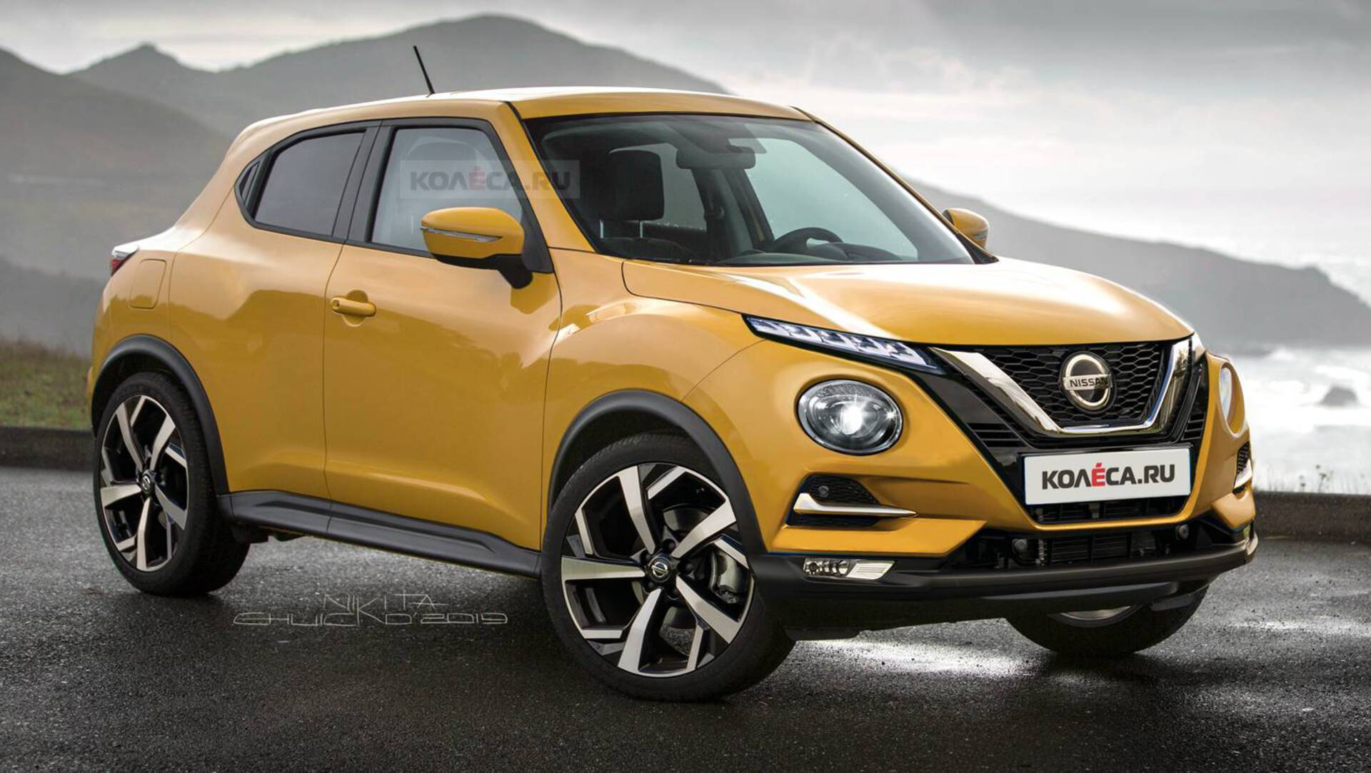 All New 2020 Nissan Juke Another Take On The Production Car