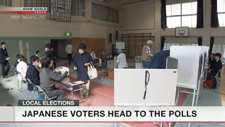 Japanese voters head to the polls