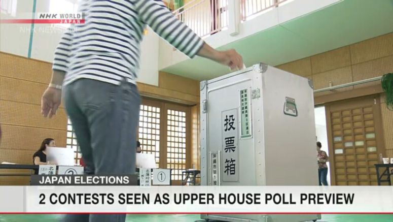 Voting underway in Japanese local elections