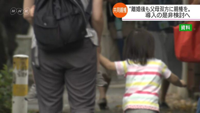 Japan to consider joint custody after divorce