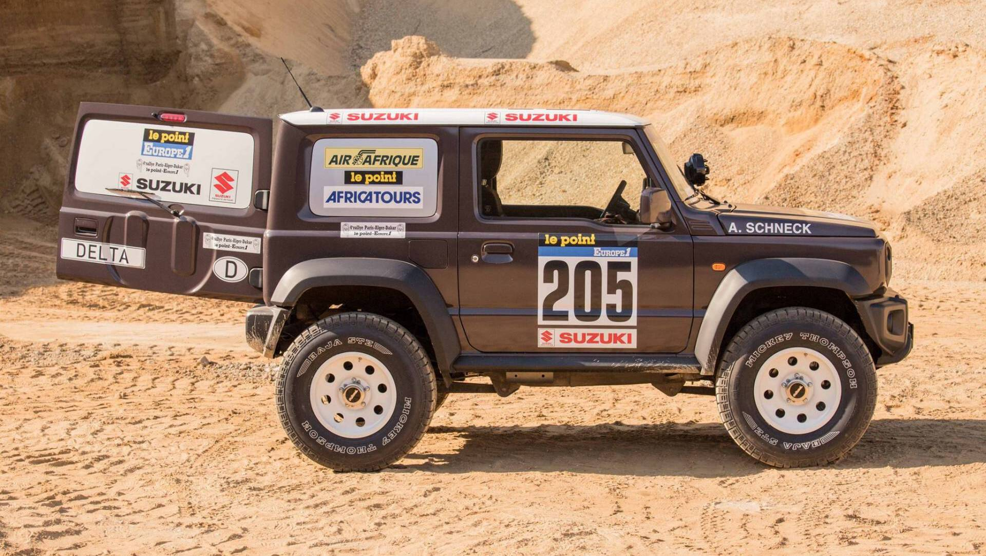 Delta 4×4 Gives 2019 Suzuki Jimny A Costly Paris-Dakar ...