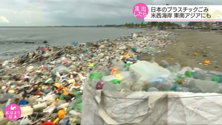 Researcher: Japan's plastic garbage can reach US