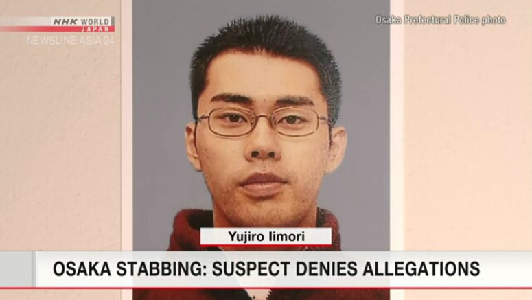 Man arrested for stabbing Osaka police officer