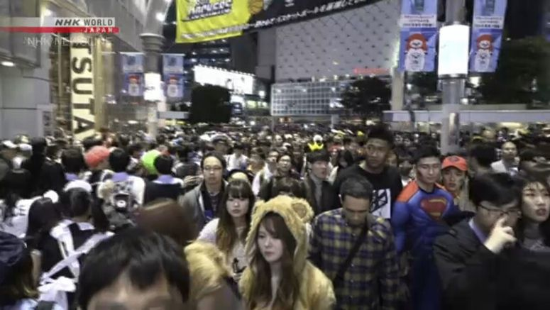 Shibuya bans drinking on street for Halloween