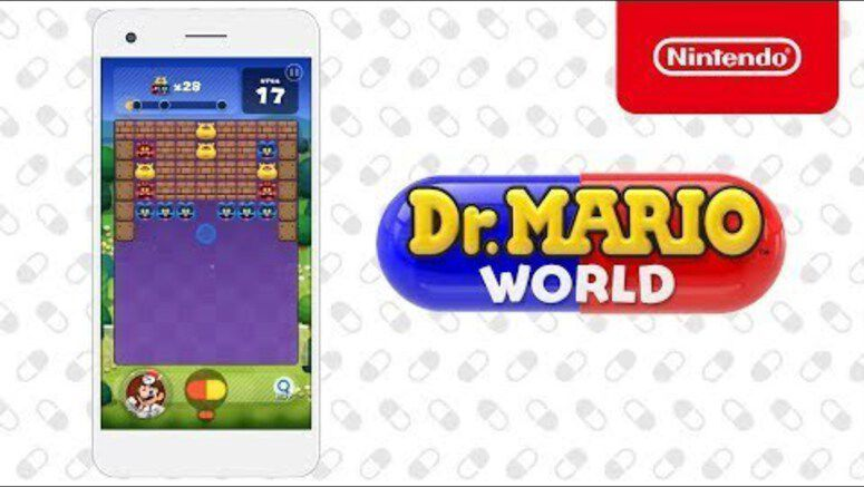 Dr. Mario World Will Launch On iOS And Android Devices Next Month