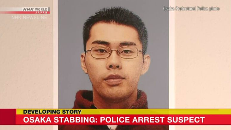 Suspect arrested after stabbing police officer