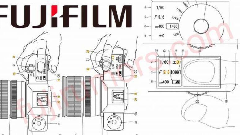 Fujifilm Patents A Touch Sensitive Top LCD Panel For Its Cameras