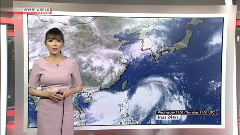 Heavy rain hits western Japan as storm nears