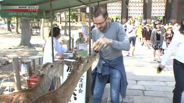 Foreign visitors to Japan hit record for June