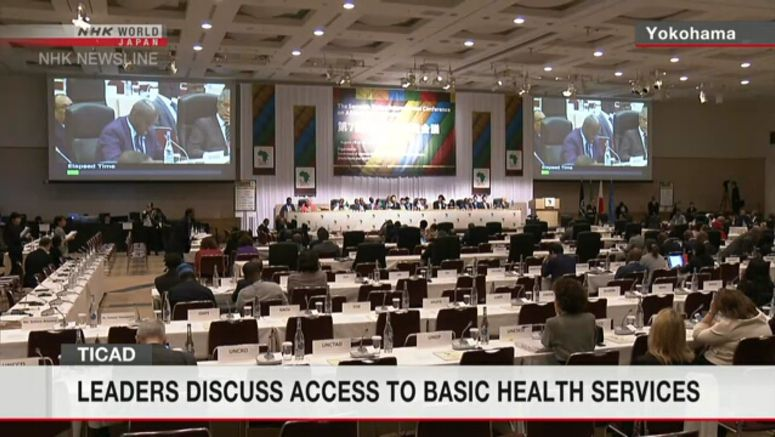 African conference in Japan focuses on healthcare