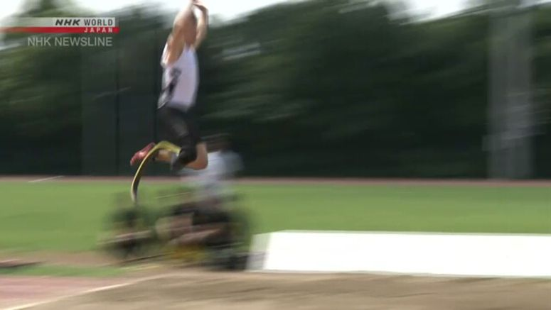 'Blade Jumper' demonstrates skills at Para event