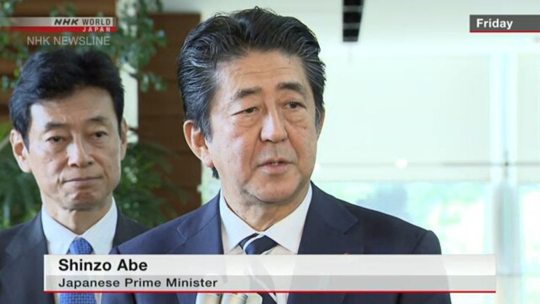 Abe: S.Korea should keep its promises