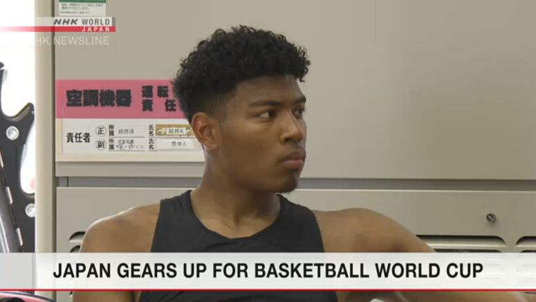 Japan men's basketball squad shows stuff to media