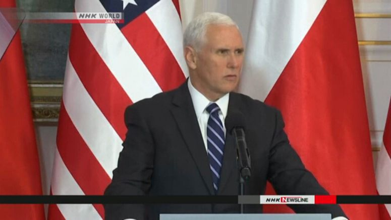 Pence to attend enthronement ceremony
