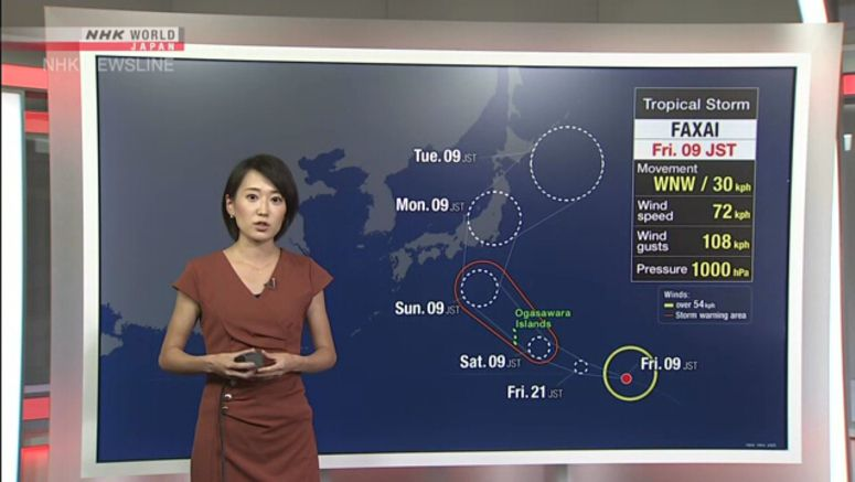 Typhoon may bring downpours to Pacific coasts