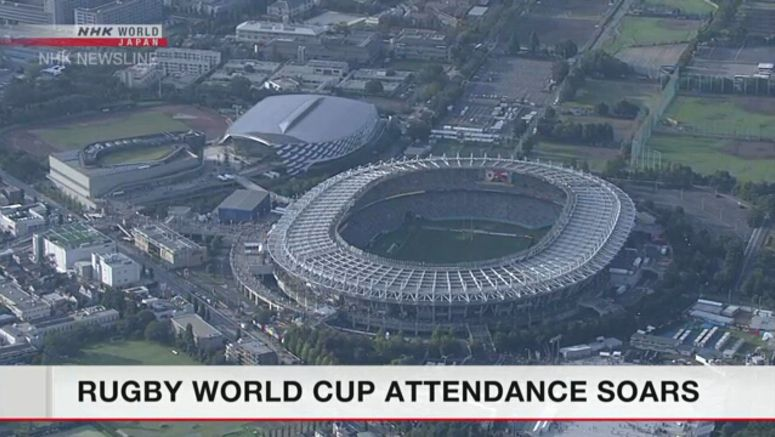 420,000 people attend Rugby World Cup so far