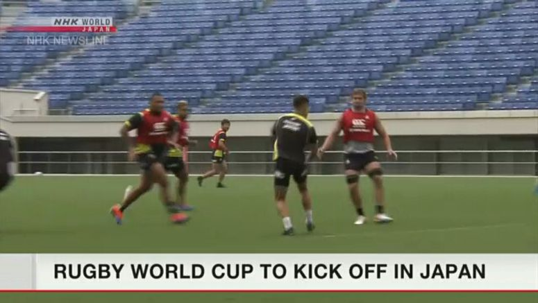 Rugby World Cup to open in Japan