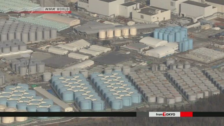 TEPCO challenged by increasing radioactive water