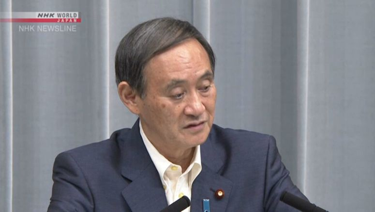 Suga: Govt. obligated to prevent nuclear accidents