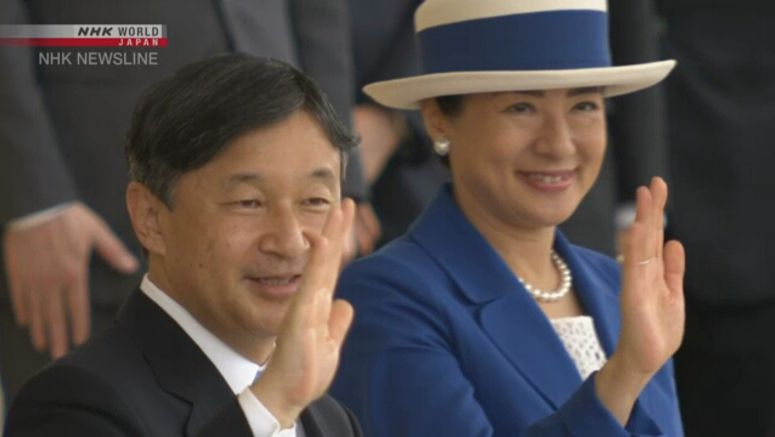 Behind the throne: The Imperial couple's lives