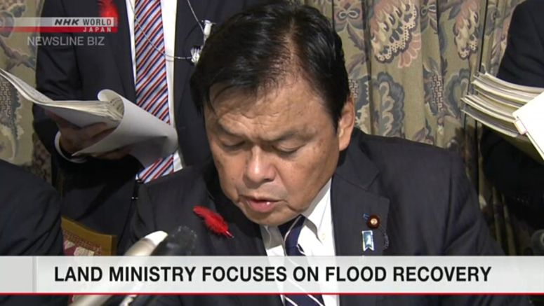 Land Ministry focuses on flood recovery