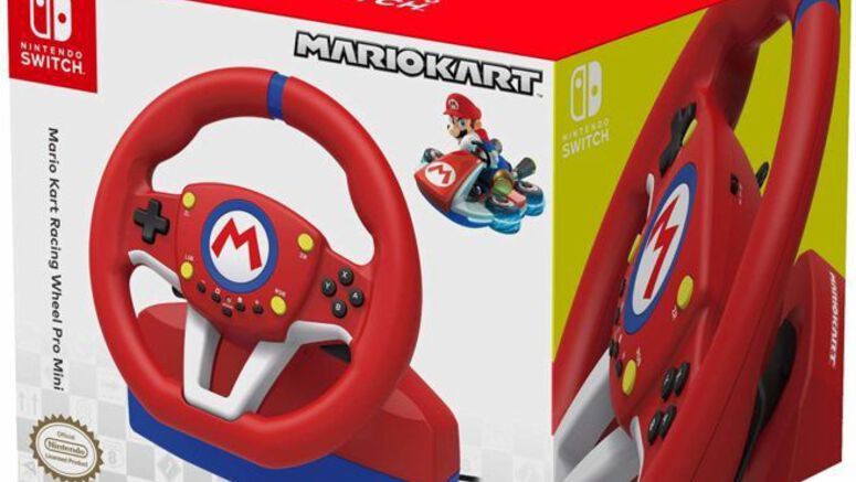 Hori's Mario Kart Racing Wheel Will Be Arriving Stateside This November