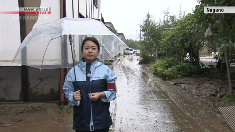 Report from Nagano, devastated by Typhoon