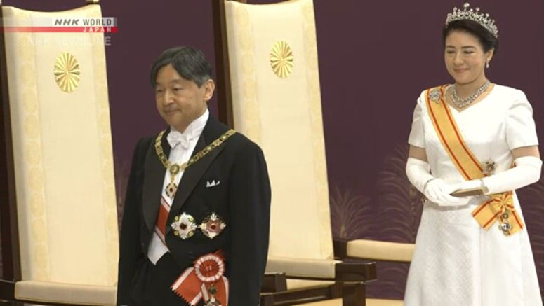 A new role as Emperor and Empress