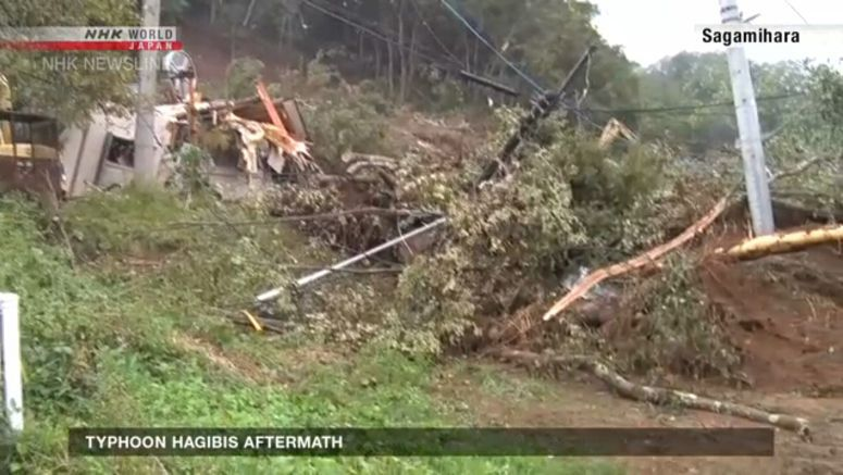 At least 140 landslides reported due to typhoon