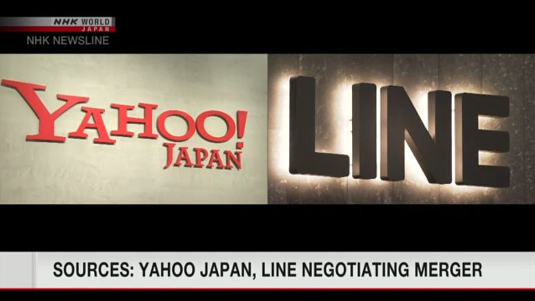 Sources: Yahoo Japan, Line negotiating tie-up