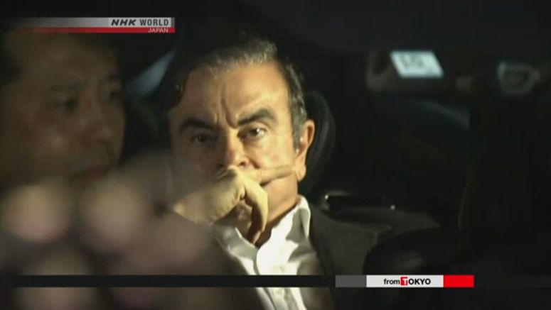 Ghosn allowed to have video conference with wife