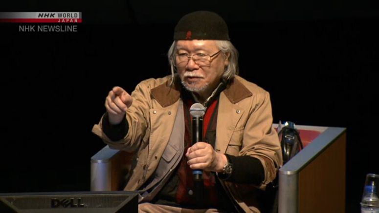 Leiji Matsumoto is in intensive care in Italy