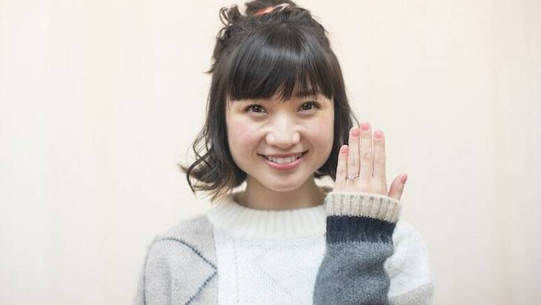 Ariyasu Momoka announces marriage to a non-celebrity man