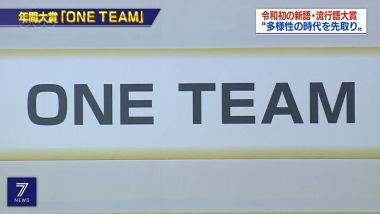 Japan Rugby slogan 'One Team' picked in contest