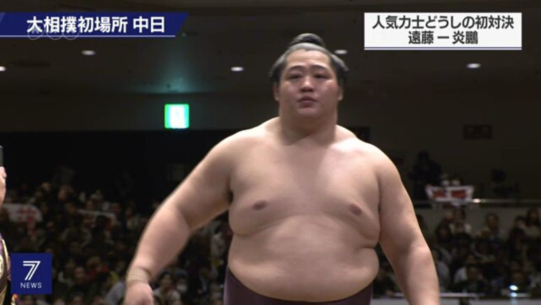 Endo suffers 2nd loss on 8th day of Sumo tourney
