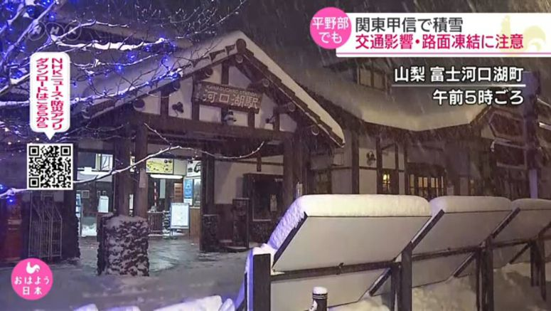 Snow in Kanto, Koshin regions