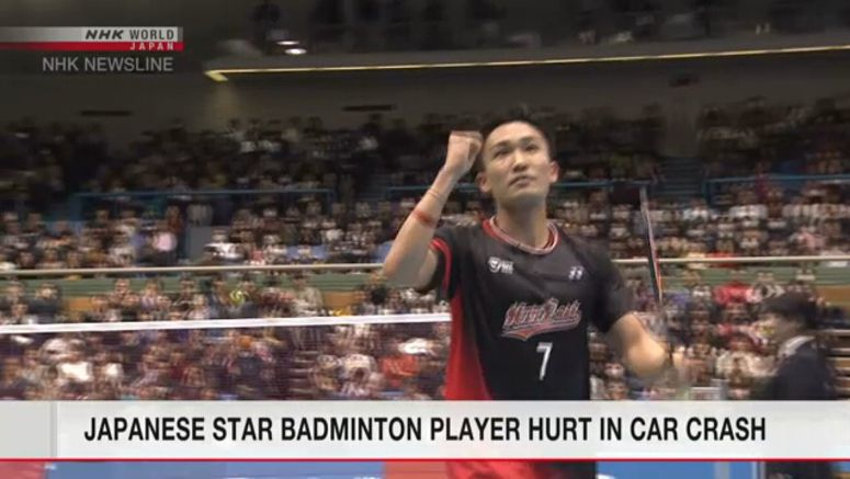 Momota and others 'recovering' after crash