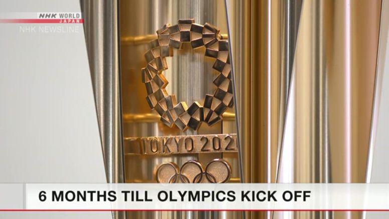 Six months till Tokyo Olympics kick off