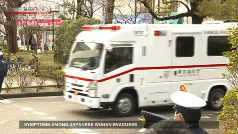 2 Japanese from Wuhan diagnosed with pneumonia