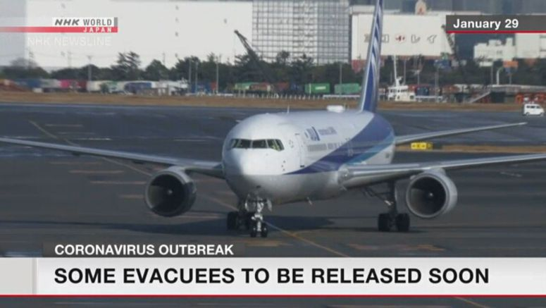 Evacuees may soon be out of quarantine after test