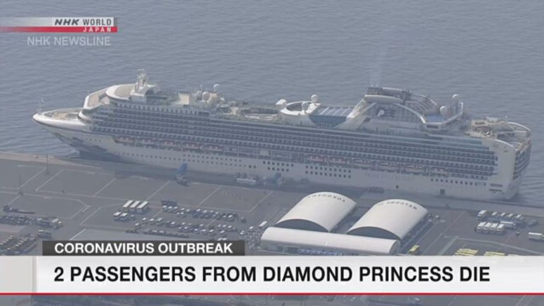 Coronavirus: 2 passengers from cruise ship die