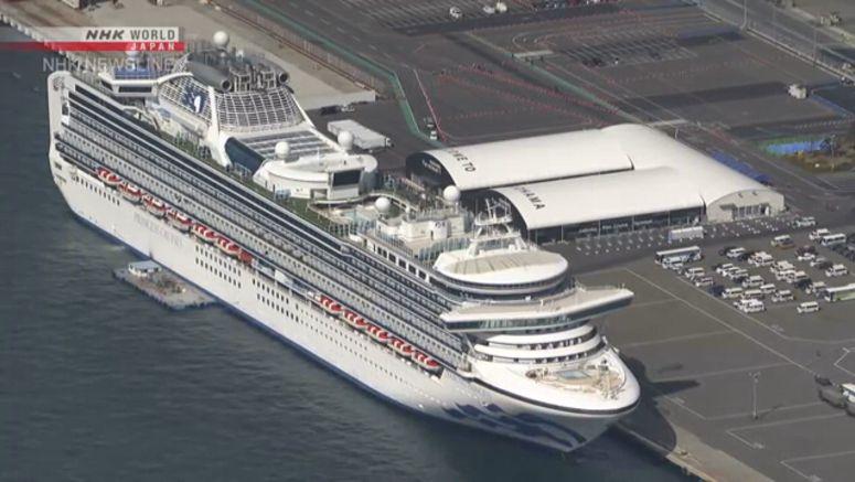 Health checks continue for former passengers