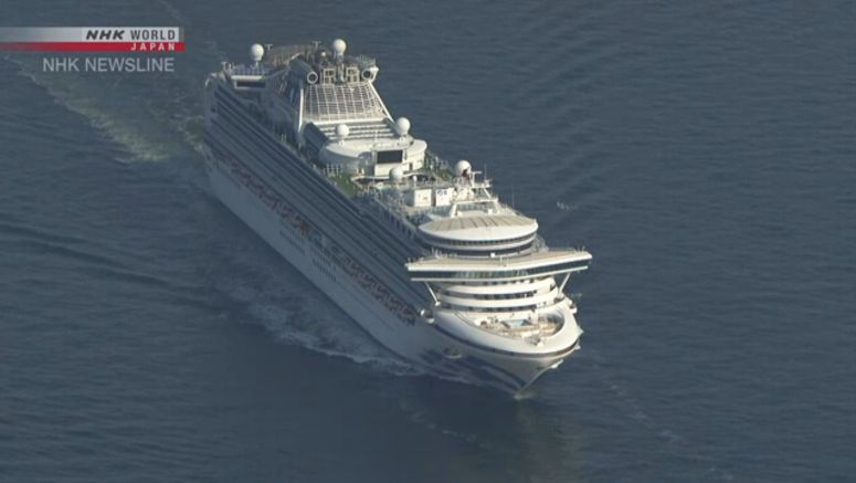 WHO: Working closely with Japan on cruise ship