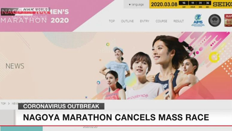 Nagoya Women's Marathon limited to elite runners
