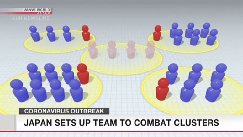 Japan sets up team for coronavirus clusters