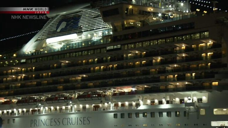Health of cruise ship's crew to be studied