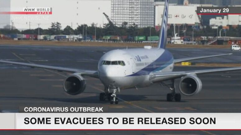 Japan retesting 1st group of evacuees for virus