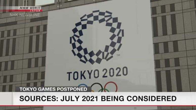 Sources: Tokyo Olympic organizers favor July 2021