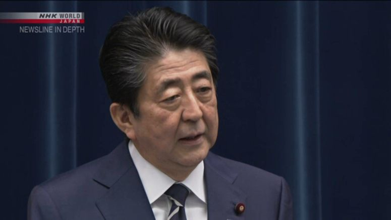 Abe urges event organizers to use caution